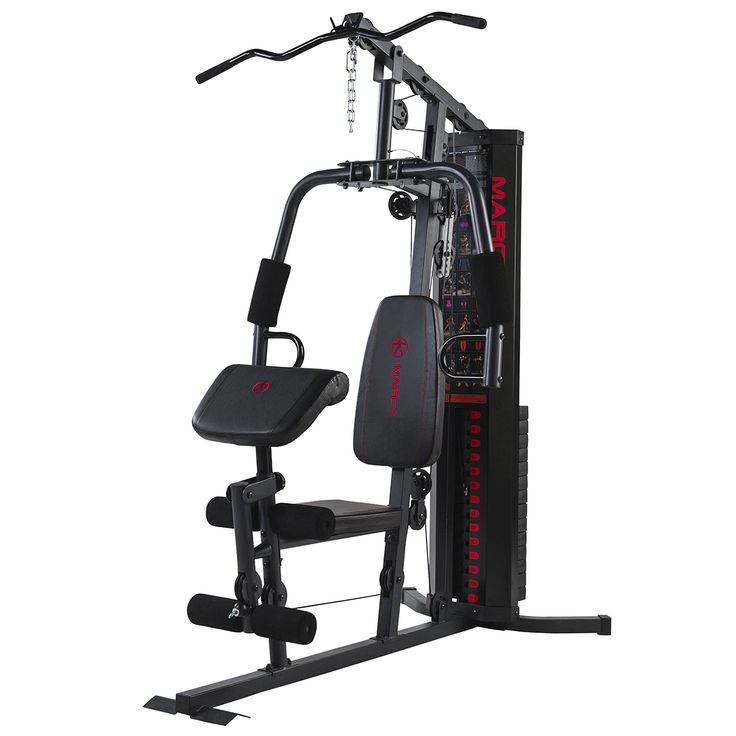 Marcy eclipse hg compact home gym curls and