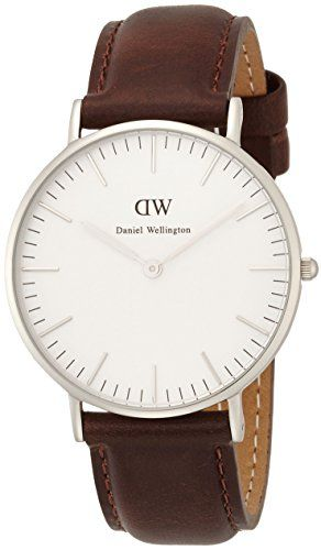 Women's Wrist Watches - Daniel Wellington  Classic Cardiff Lady  Silver  0612DW ** Check out this great product.