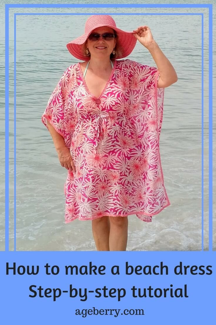 Free Sewing Patterns How To Make A Beach Dress Plus Size Sewing