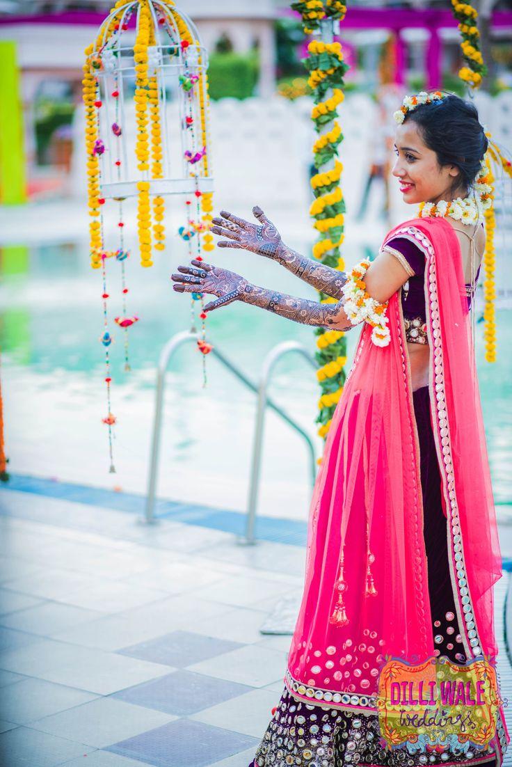 Bride-in-Coral-Pink-and-Marsala-Lehenga.jpg (3268×4896)