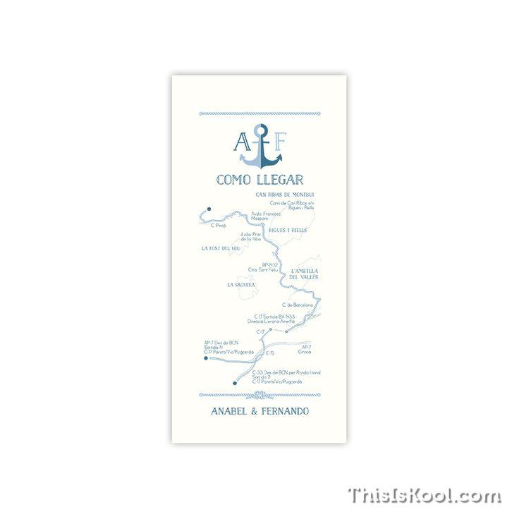 """Mapa boda - """"MARINERA"""""""