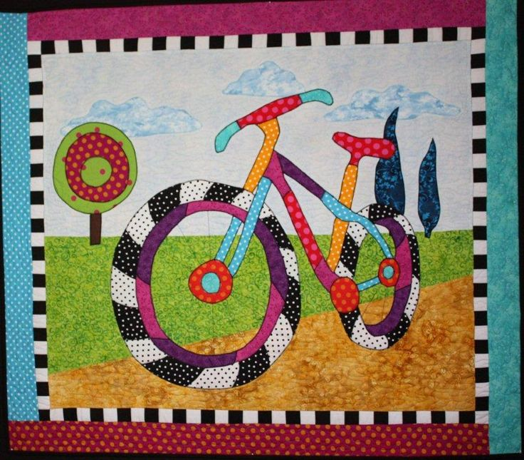 Summer Fun  a quilt pattern designed by Barbara Jones from bj designs and patterns Available at quiltspark.com