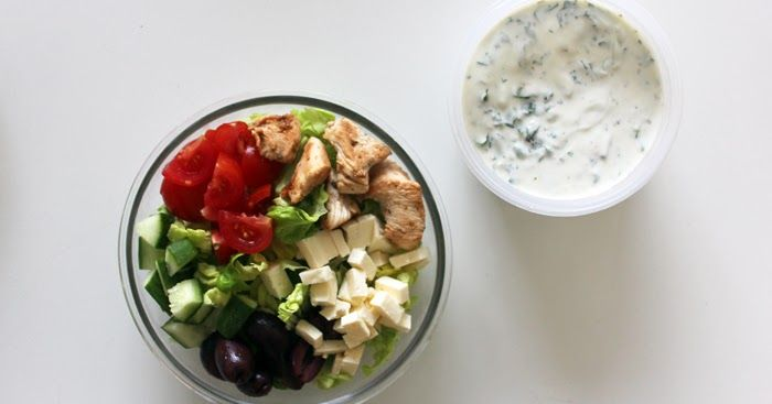 Greek Salad Bowl    Good morning! It's another Monday, and I have a Meal-Prep Monday post ready for you today! It's a super simple, super ...