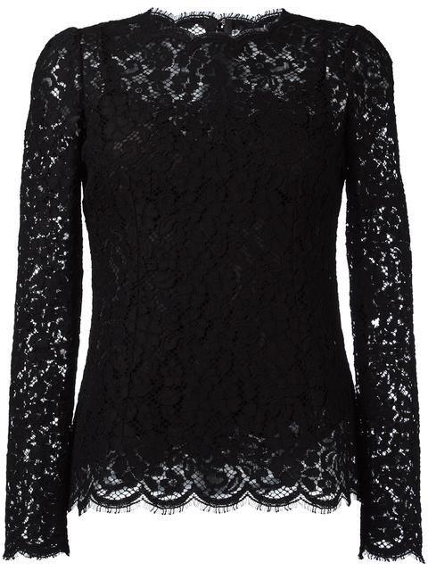 Comprar Dolce & Gabbana blusa de encaje en A.M.R. from the world's best independent boutiques at farfetch.com. Descubre 400 boutiques en 1 sola dirección.