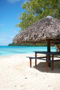 Lonnoc beach, Santo, Vanuatu