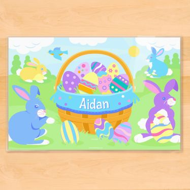 22 best easter gifts for boys images on pinterest easter gift boys egg celent personalized placemat negle Choice Image