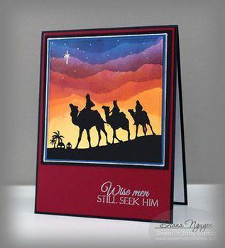 We Three Kings Clear Stamp Set - Sweet 'n Sassy Stamps
