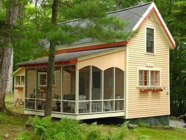 I want this tiny house ♥