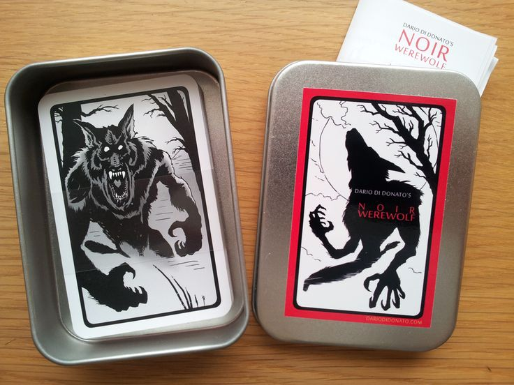 Its Finaly Here!  #Werewolf #Cards #Game #Halloween #Noir #Party #Fullmoon #Fun
