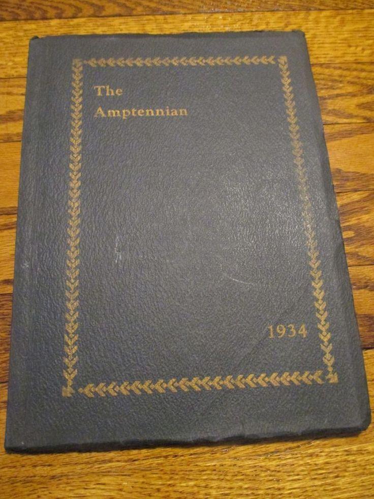1934 The Amptennian Northampton High School Yearbook PA Pennsylvania Photos