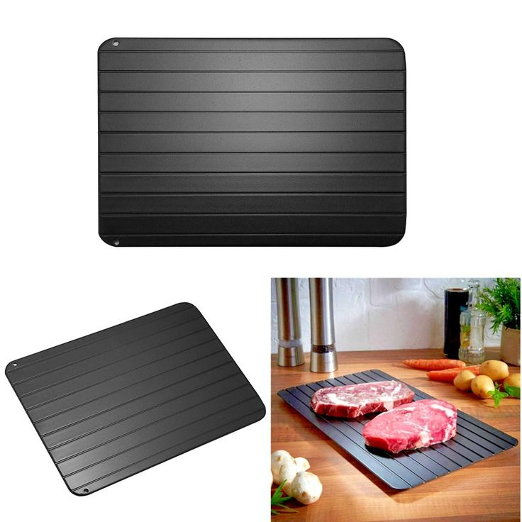 Fast defrosting meat tray safe defrost thaw frozen meat