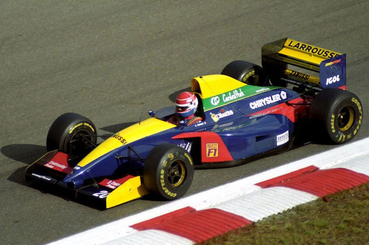 1993 gp belgii spa francorchams larrousse lh93 lamborghini erik comas 1993 formu a 1. Black Bedroom Furniture Sets. Home Design Ideas
