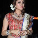 Badminton Ace Jwala Gutta wearing Diamond and Ruby Jewellery