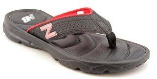 New Balance Rev Plush20 Thong Men Open-toe Synthetic Black Sport Sandal.