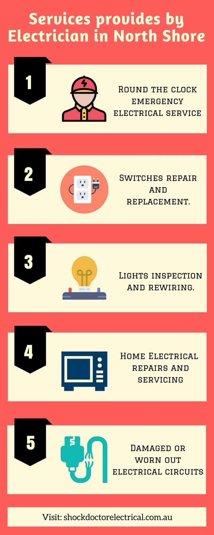 Get in touch with the experts electrician of North Shore for timely and reliable residential electrical services.