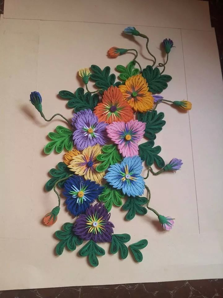 Quilling Wall Decoration Designs
