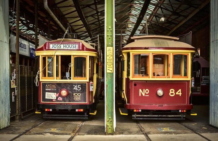 RoyalAuto July16. 10 things to love about Bendigo. Bendigo Tramways. Photos: Anne Morley. #bendigo #tram #tramways #bendigotramways
