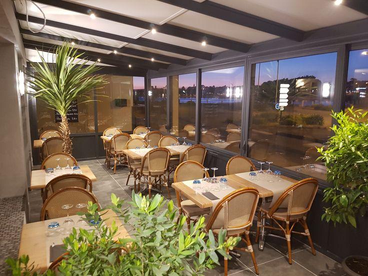 Venez admirer le coucher de soleil depuis la terrasse de notre restaurant !  #benodet #restaurant #food #coucherdesoleil #terrasse #finistere #bretagne