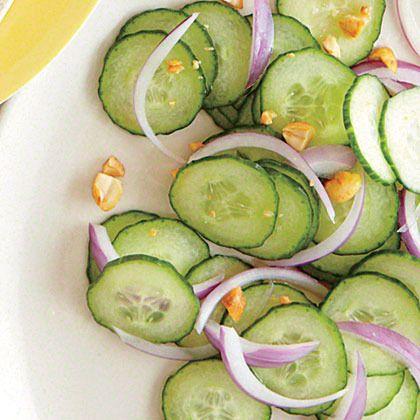 Cucumber-Peanut Salad by Cooking Light   Salads   Pinterest