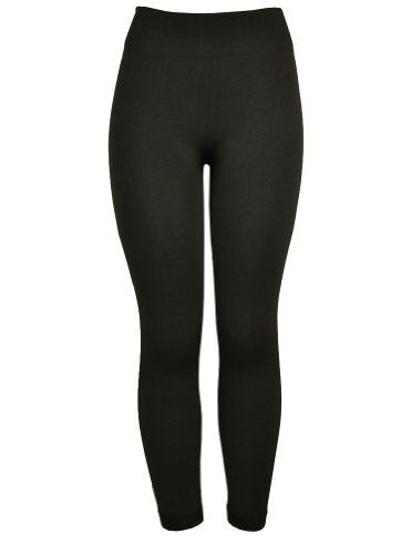 143Fashion Stretch Thick Leggings, Black, One Size. Stretch Thick Leggings. Imported. 8% Spandex. 92% Nylon.