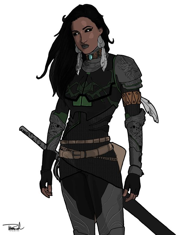 Danielle Moonstar's been plagued with crap costumes forever, but this is an AWESOME design with Asgardian valkyrie & Cheyenne elements. Well done! by tsbranch.deviantart.com on @deviantART