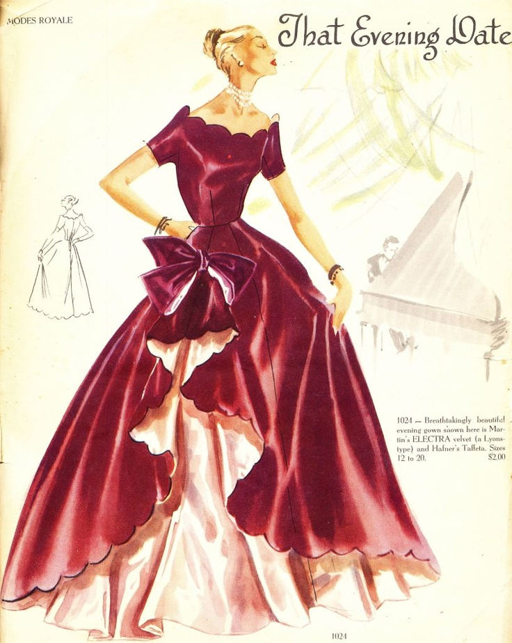 what-i-found: Modes Royal Fabulous Patterns - 1951