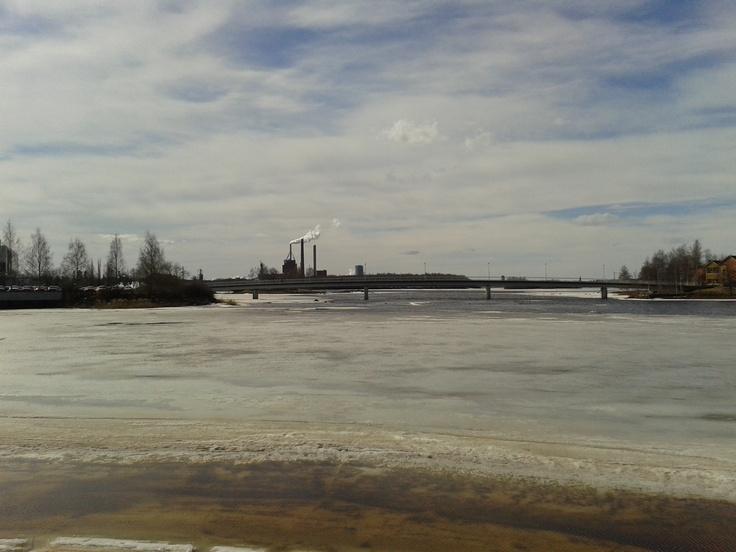 Some bridge in Oulu.