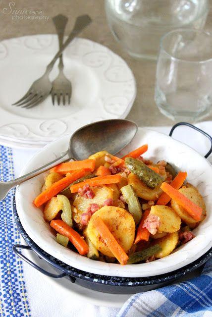 Sünis kanál: Répás-uborkás krumpli