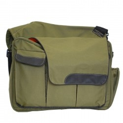 Diaper Dude - Eco-Friendly Messenger II Diaper Bag - Green
