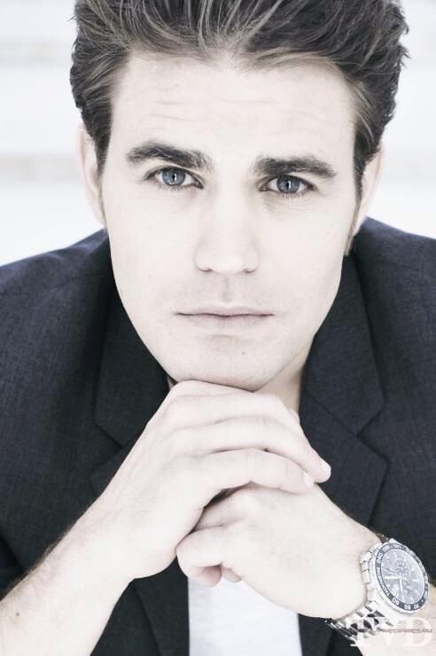 Paul Wesley  what a freaking stud. Only reason i tuned in all these years. <3