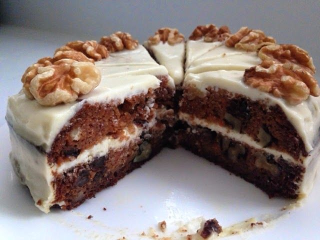 Lulumummy: Air fryer healthy carrot cake with cream cheese frosting ...