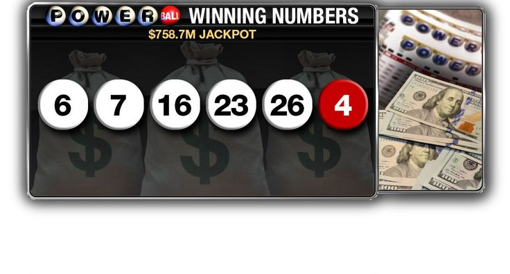 One winning Powerball ticket to get $758.7M jackpot