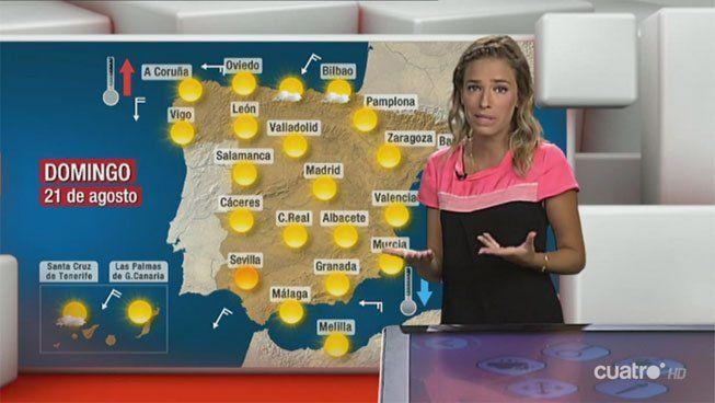 EN VÍDEO: La previsión meteorológica, con Flora González  ... - http://www.vistoenlosperiodicos.com/en-video-la-prevision-meteorologica-con-flora-gonzalez/