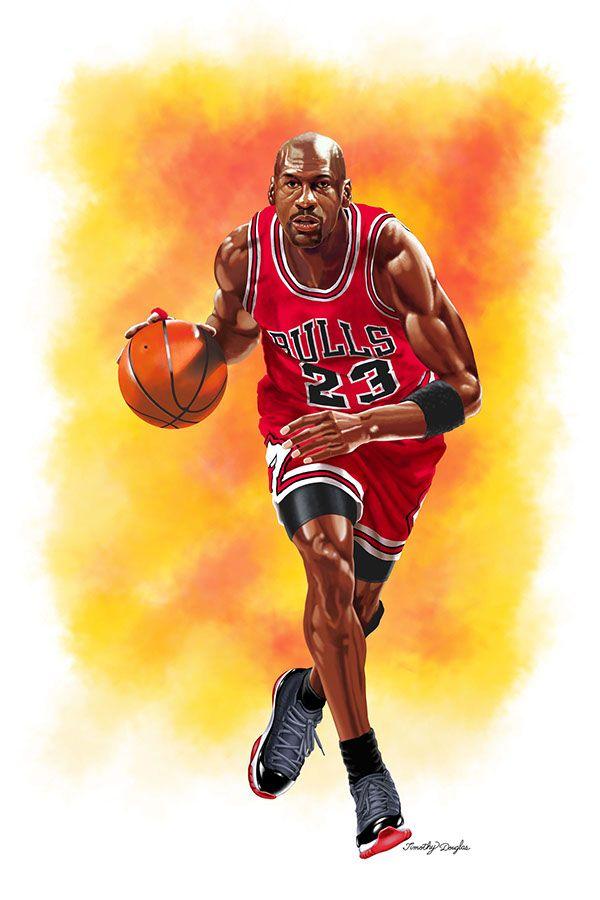 Michael Jordan, Bulls by Timothy Douglas.