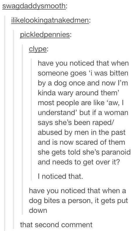 This wake-up call about the way we treat rape victims.