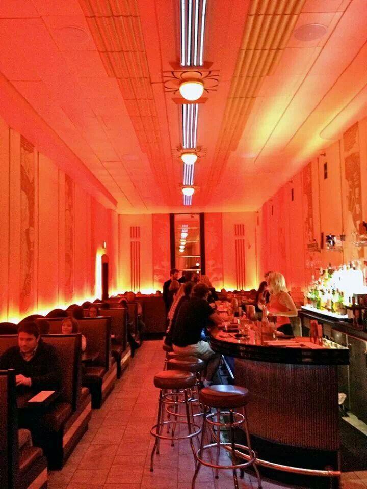 cruise room/ denver co /Historic, upscale Art Deco martini