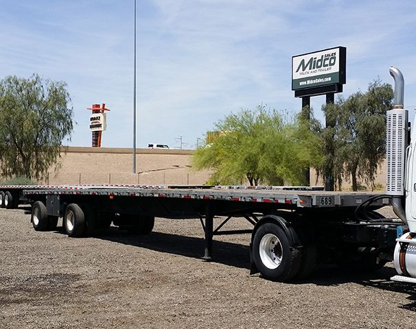 used great dane flatbed trailer