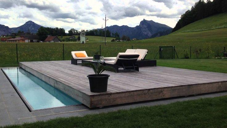 30 best deck piscina images on pinterest small swimming. Black Bedroom Furniture Sets. Home Design Ideas