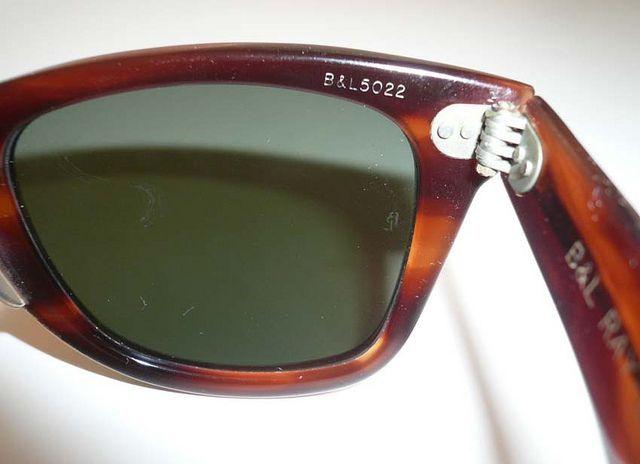 #Sunglasses,#Ray-Ban.Vintage Ray Ban Wayfarer Sunglasses