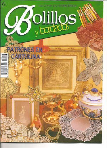 Bolillos y Bordados nº 10 - M. Jesús Fernández - Picasa-Webalben