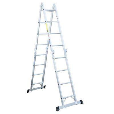 Werner 16-ft Aluminum Multi-Position Ladder