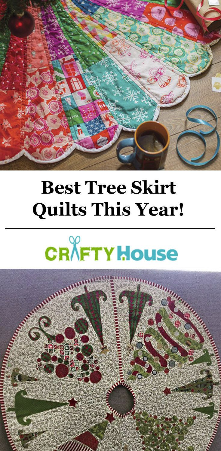 Our Favorite Quilted Tree Skirts This Year!