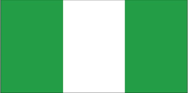 Country Flags: Nigeria Flag