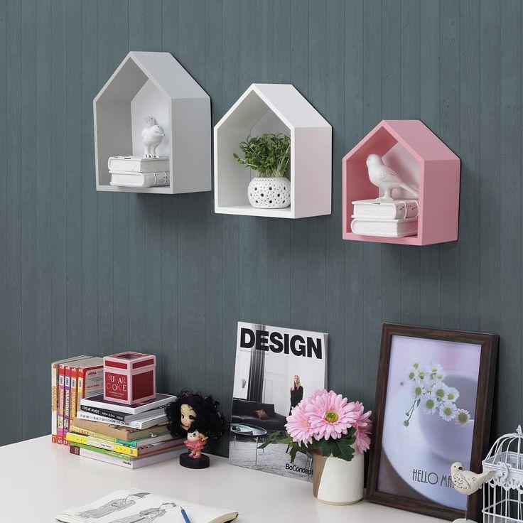Wall decor rumah rumahan warna grey, pink, white (set). • Ukuran paling Besar 23x12x29 cm. • Ukuran Sedang 20x12x25 cm. • Ukuran paling Kecil 17x12x21,5 cm. • Dijual dalam set (dapat tiga) Rp 350.000 termasuk ongkos kirim di Jawa (luar Jawa +30.000)  #ifurnholic_deco #walldecor #hiasan #hiasandinding #hiasanruangan #dekorasi #dekorasidinding #dekor #dekorasishabby #shabbychic #dekorasimeja #kidsroom #kidsbedroom #hiasangantung #rumahrumahan #hiasankayu #warnapastel #pastelcolors #pastel…