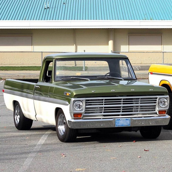 1969 Ford F100 Grille, 1969 Ford F100 4x4 For Sale | CARROS ...