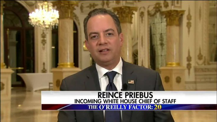 """""""Foreign governments shouldn't be hacking American institutions, period.""""  Tonight on #OReillyFactor, #RNC Chairman Reince Priebus said President-elect Donald J. Trump is waiting for more information from the intel community on the role #Russia may have played in this year's presidential election."""