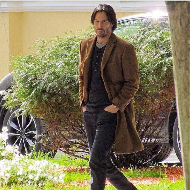 Keanu Reeves St.Petersburg(May2017) while shooting movie Siberia