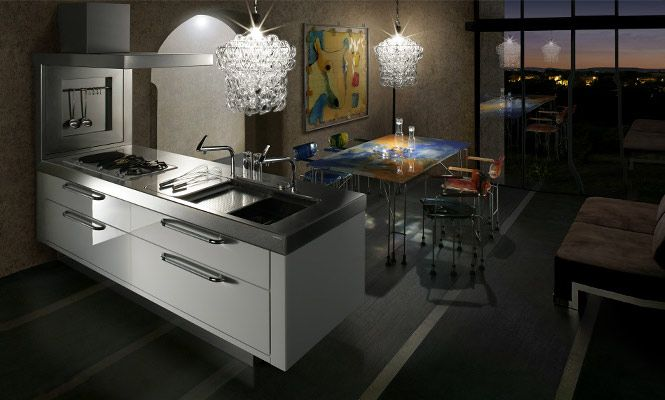 Modern Kitchen Architecture Design Luxury Place For Cooking
