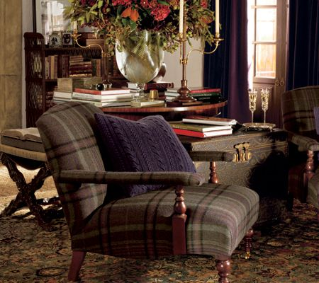 Ralph Lauren country club | Ralph Lauren Home for Kravet Collections | Home Furnishings