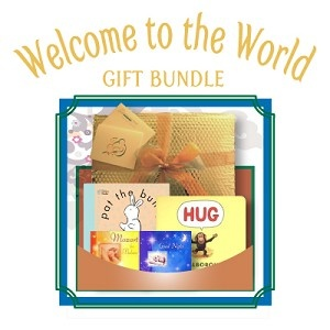 Great baby shower gift! - Welcome to the World - Pat the Bunny, Hug, Mozart for Babies and Good Night
